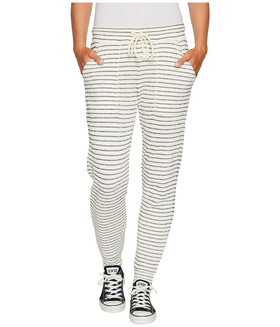 Billabong - Turn Away Pants (Black/White) Women's Casual Pants