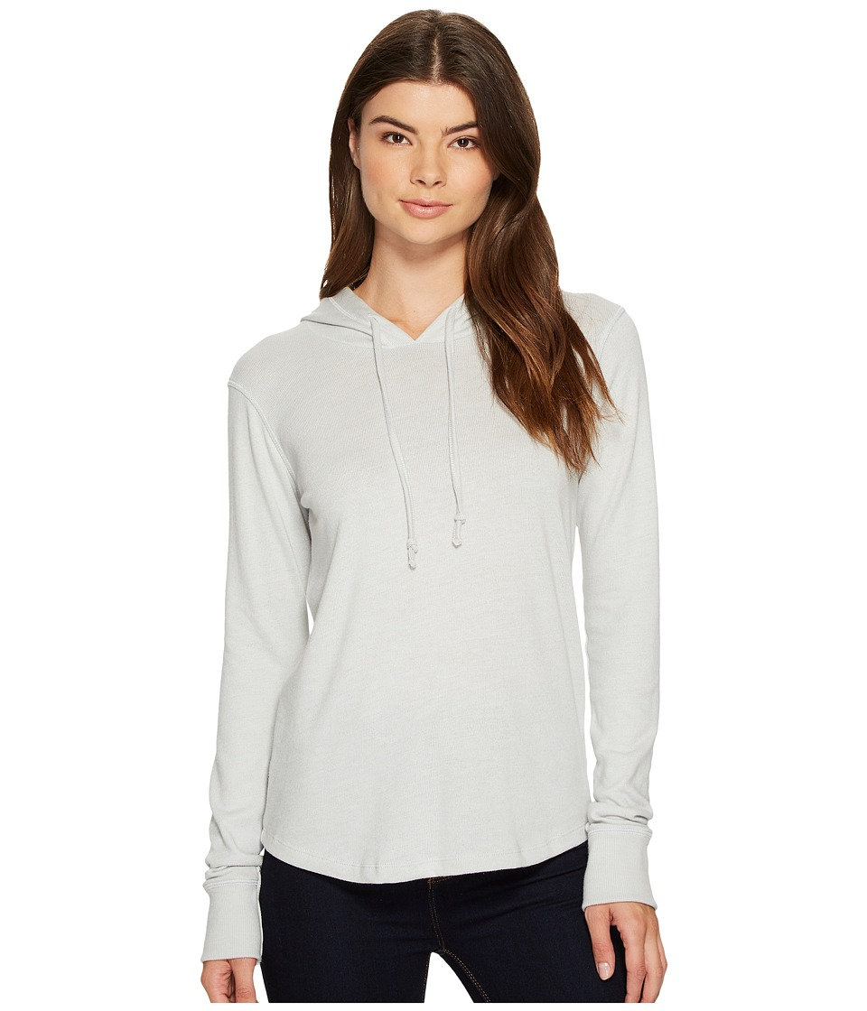 Alternative - Cozy Pullover Hoodie (Light Grey) Women's Sweater