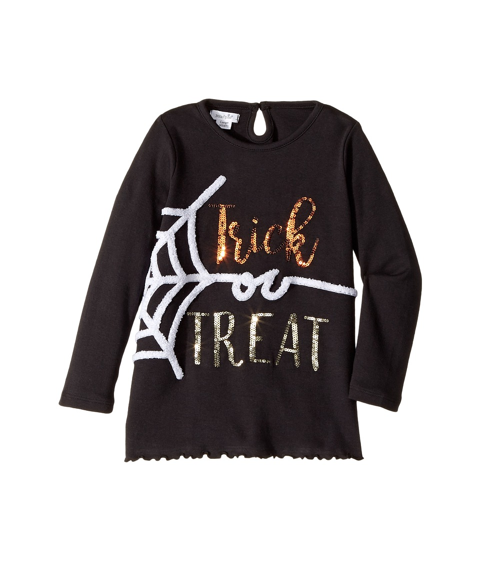Mud Pie - Trick or Treat Tunic (Infant/Toddler) (Black) Girl's Clothing