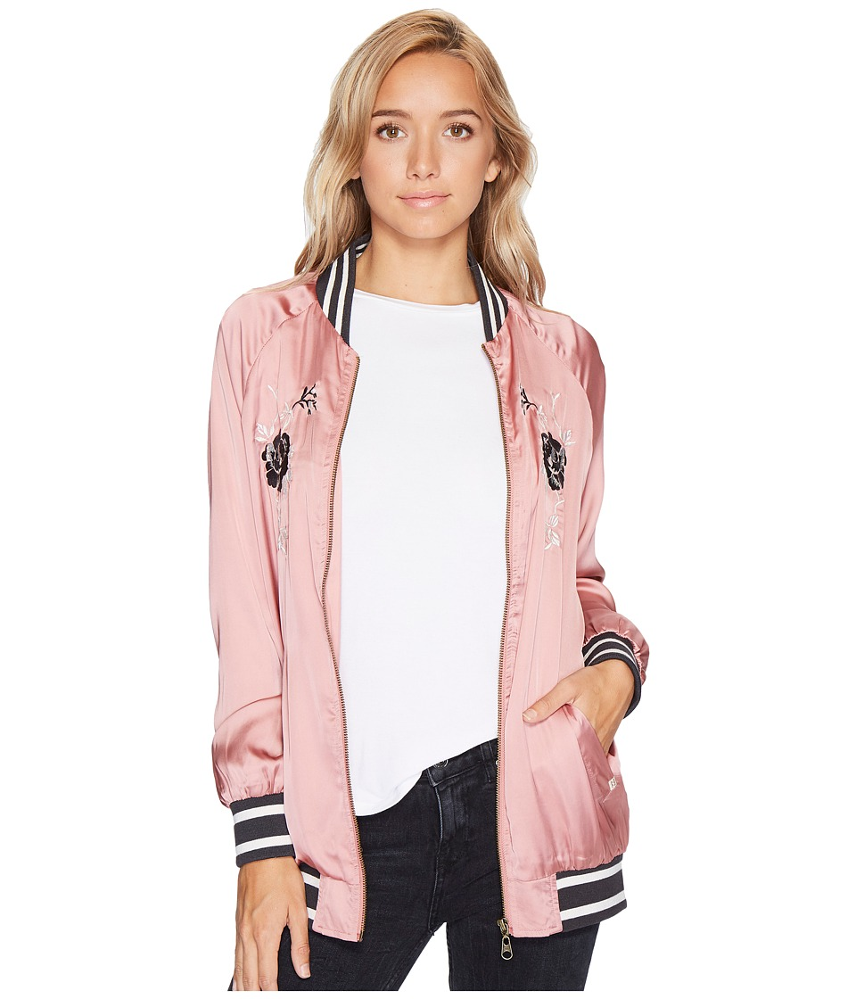 Billabong - Two Way Street Jacket (Ash Rose) Women's Coat