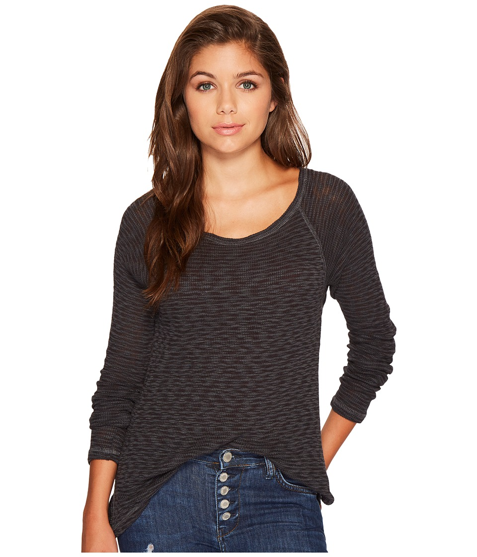 Billabong - Along The Way Knit (Off-Black) Women's Clothing