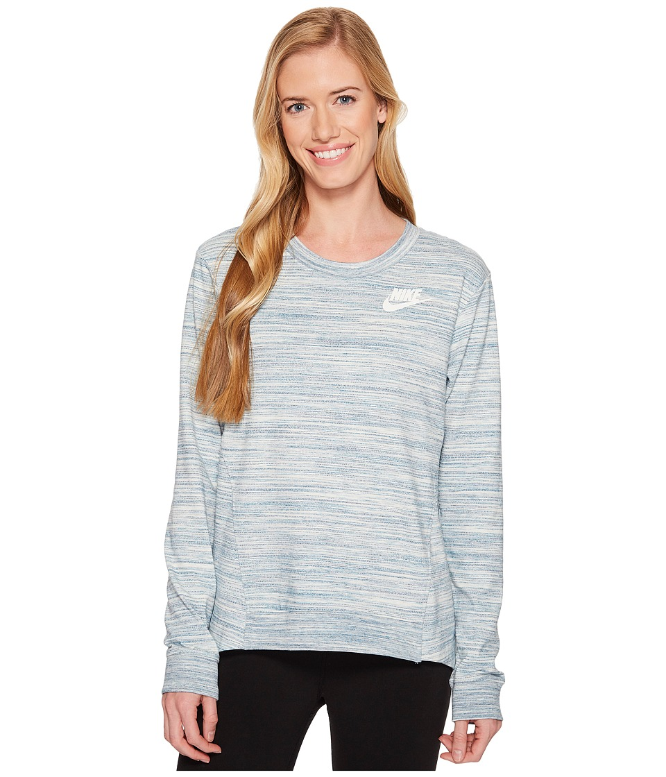 Nike Sportswear Gym Classic Crew (Light Bone/Heather/Sail) Women