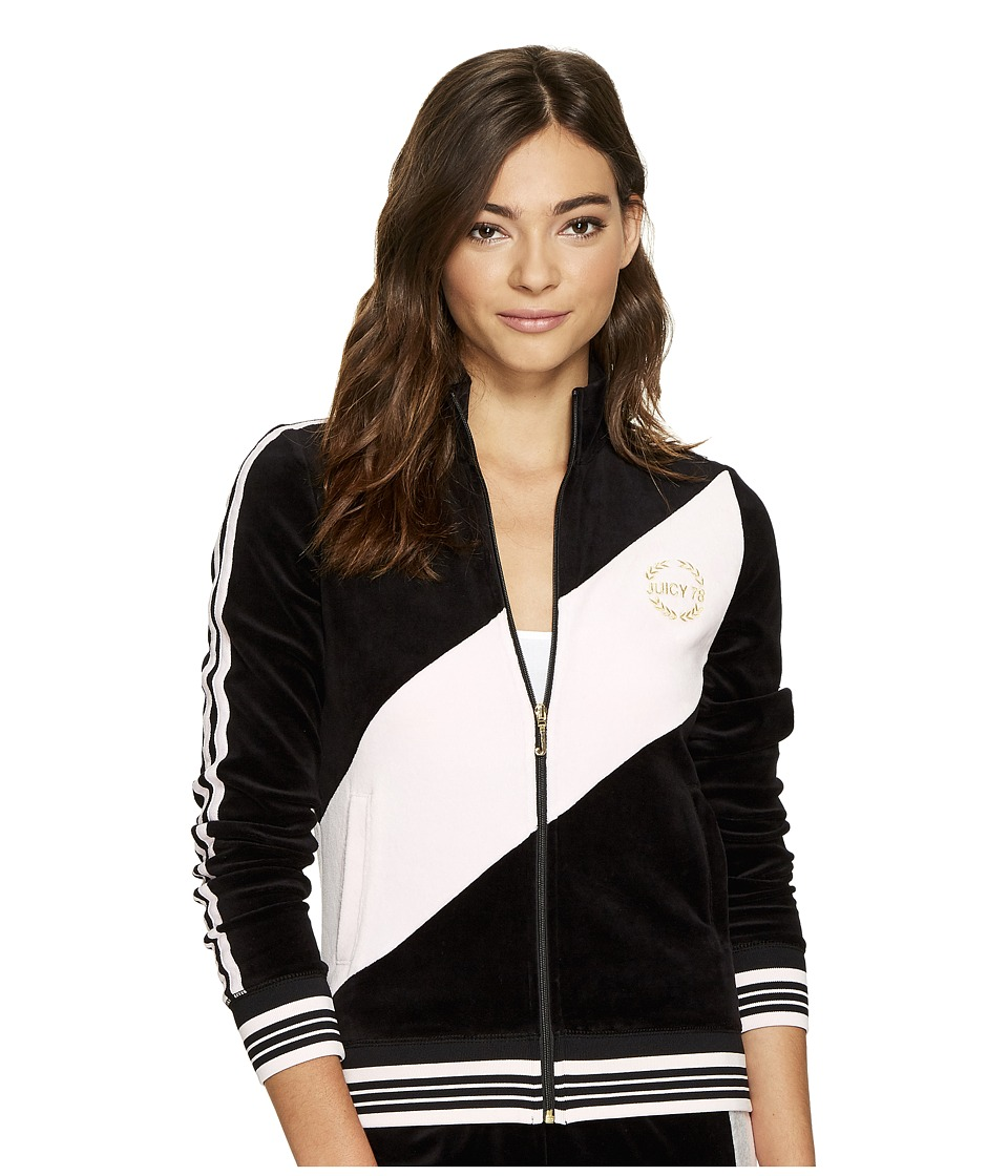 Juicy Couture - Sporty Heritage Jacket (Pitch Black) Women's Coat