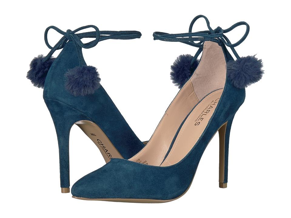 Charles by Charles David Petunia (Midnight Suede/Faux Fur) High Heels