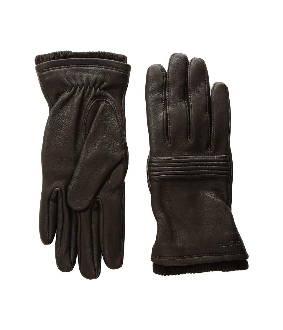 Hestra Isla (Dark Brown) Dress Gloves