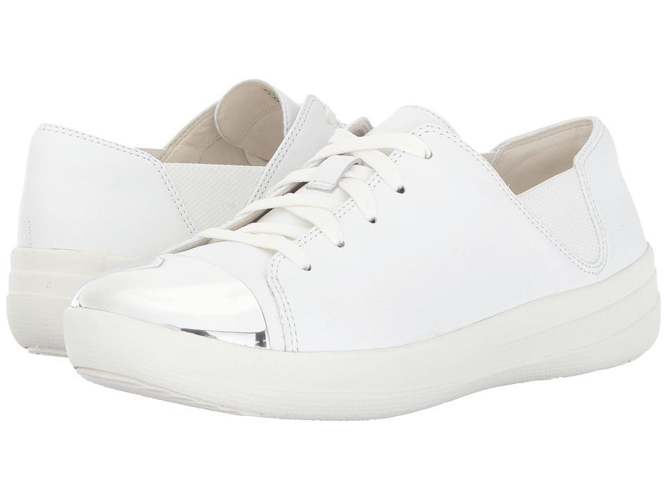 FitFlop F-Sporty Mirror-Toe Sneaker (Urban White) Women