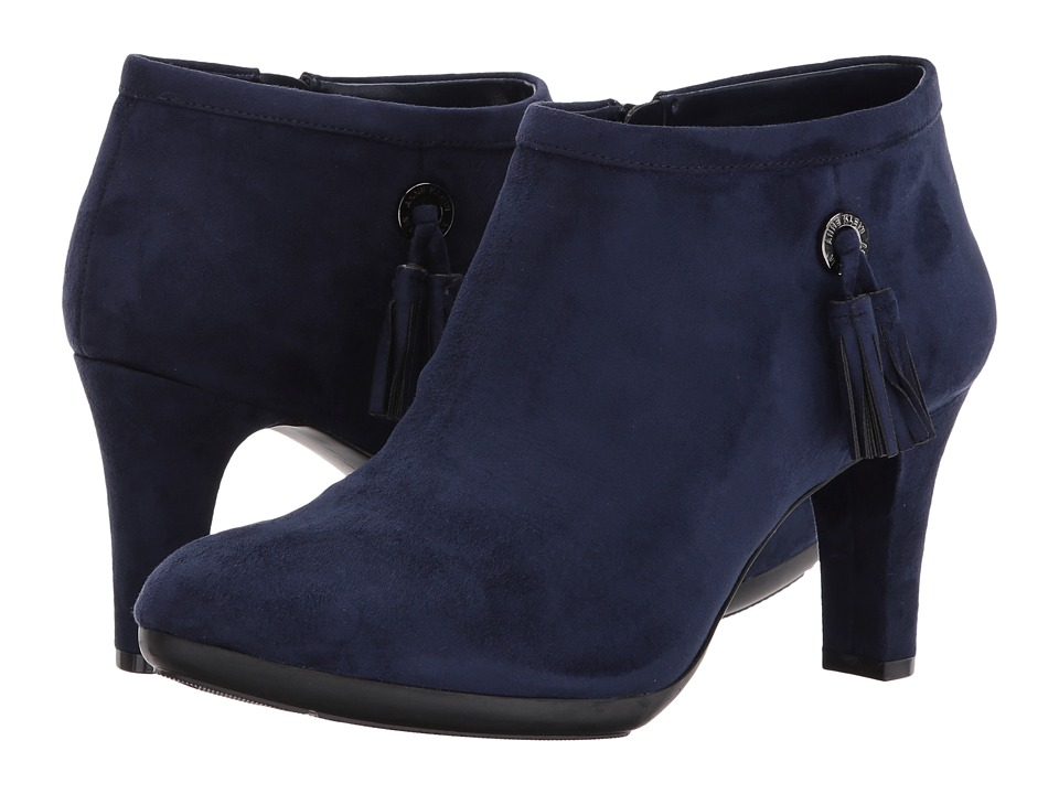 Anne Klein Silva (Navy Fabric) Women