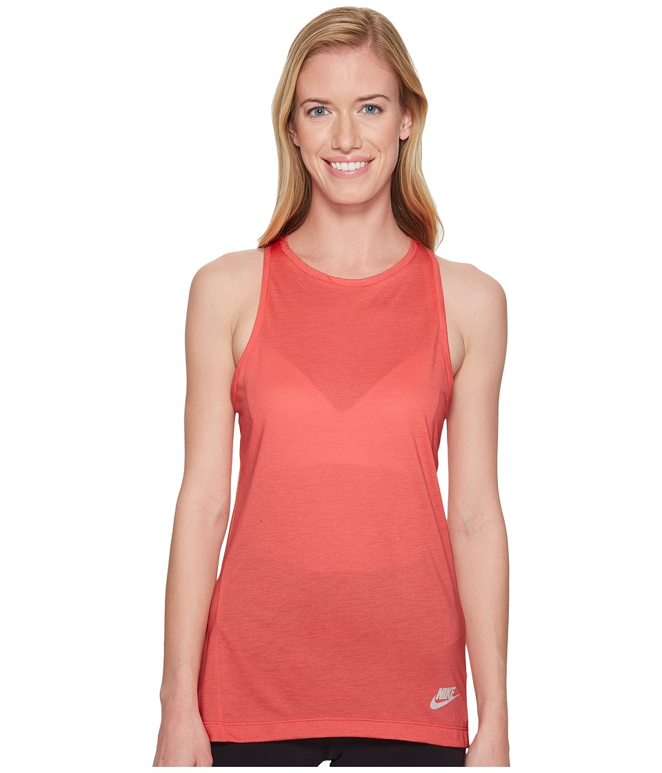 Nike Sportswear Essential Tank Top (Sea Coral/Sea Coral/Barely Rose) Women