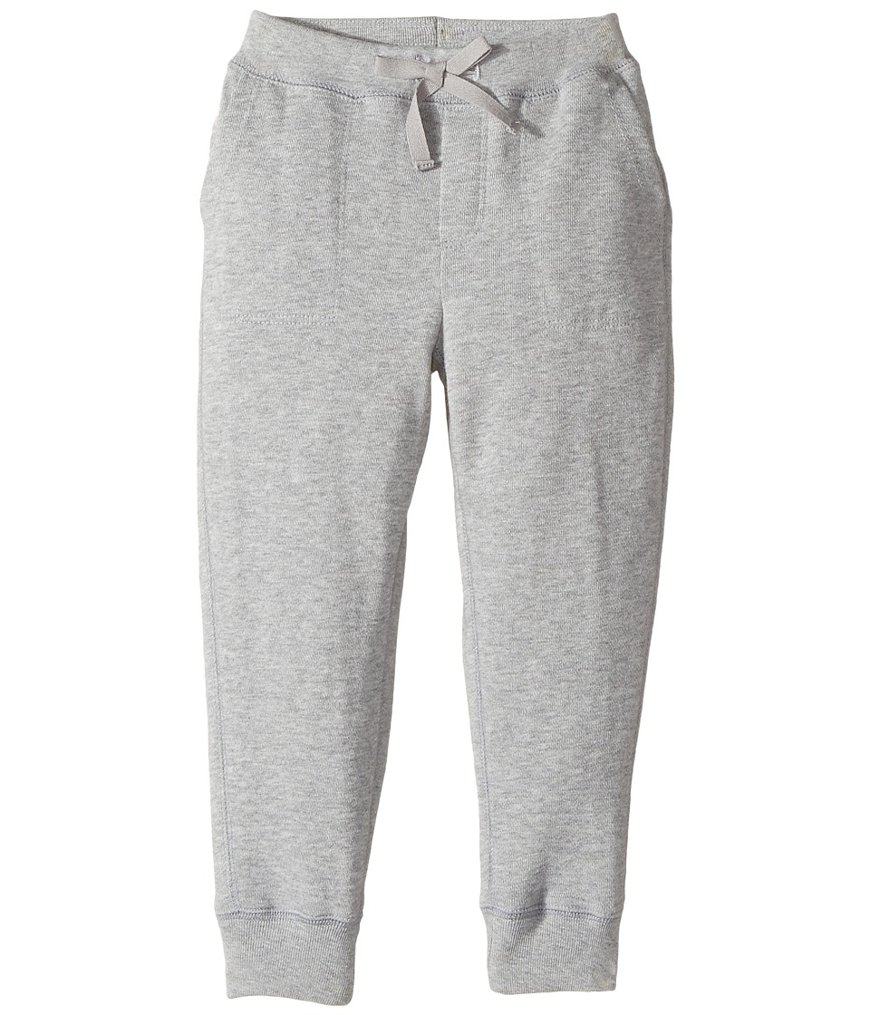 Polo Ralph Lauren Kids - French Terry Jogger Pants (Toddler) (Andover Heather) Girl's Casual Pants