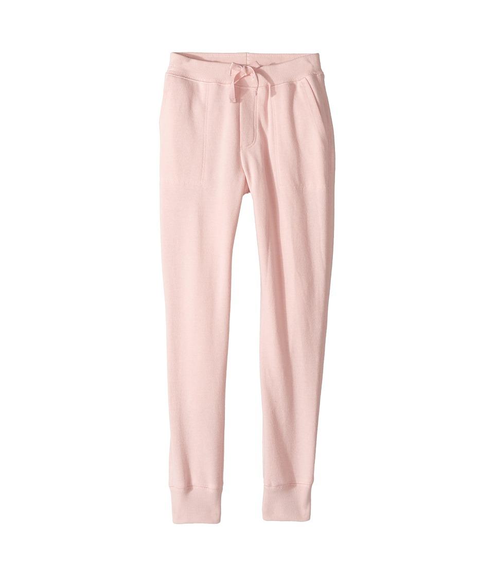 Polo Ralph Lauren Kids - French Terry Jogger Pants (Little Kids/Big Kids) (Petal) Girl's Casual Pants