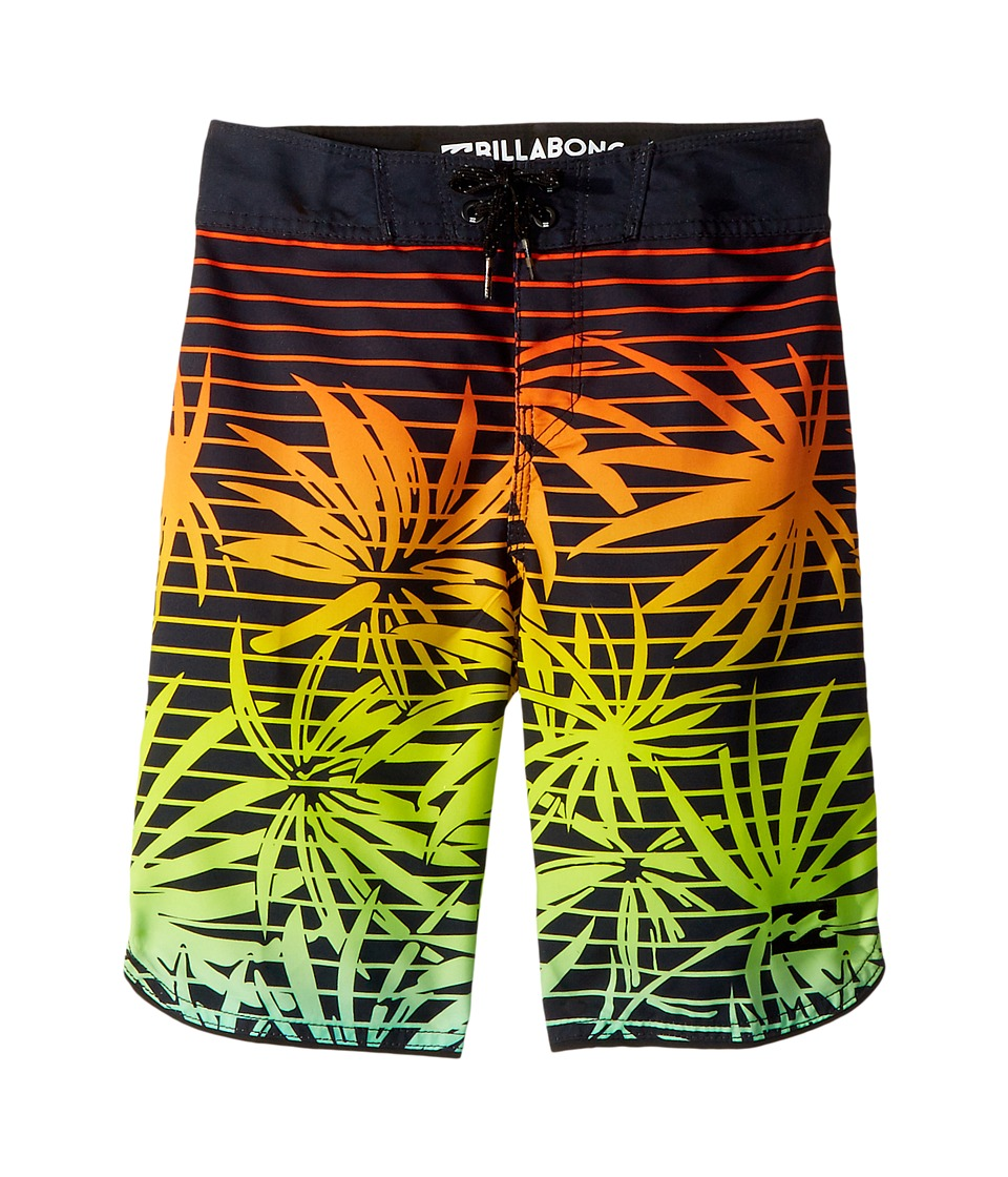 Billabong Kids 73 OG Print Boardshorts (Big Kids) (Orange) Boy