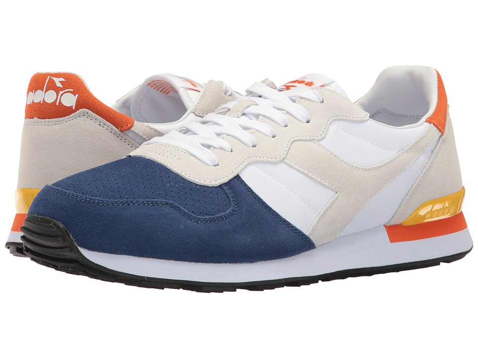 Diadora - Camaro Double II (Limoges/White/Cyber Yellow) Shoes