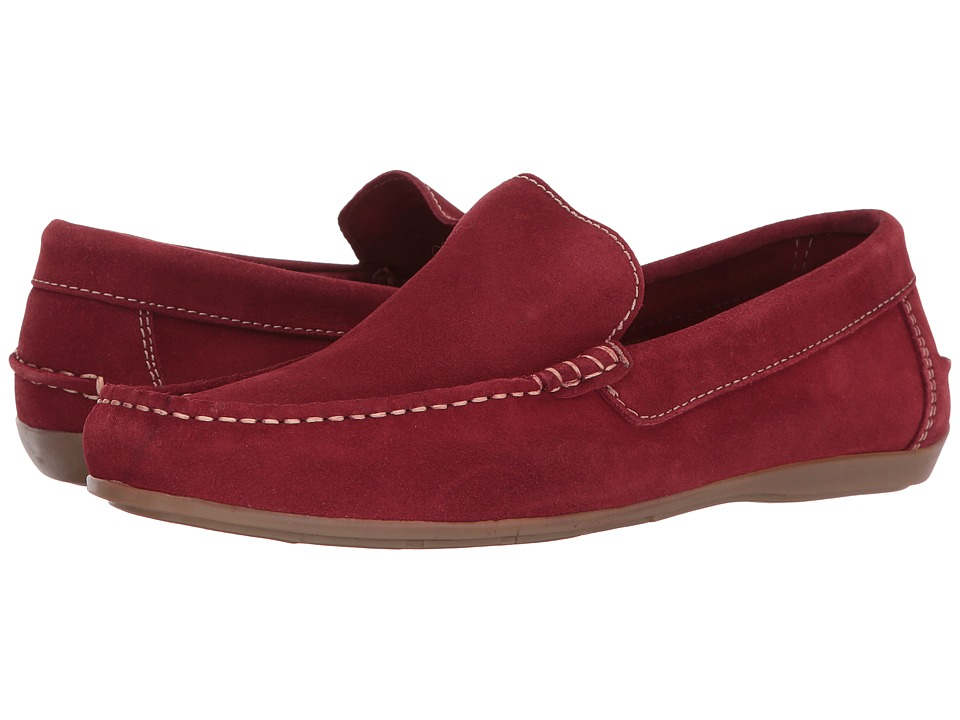 Florsheim - Jasper Venetian Slip-On (Red) Men's Slip on Shoes