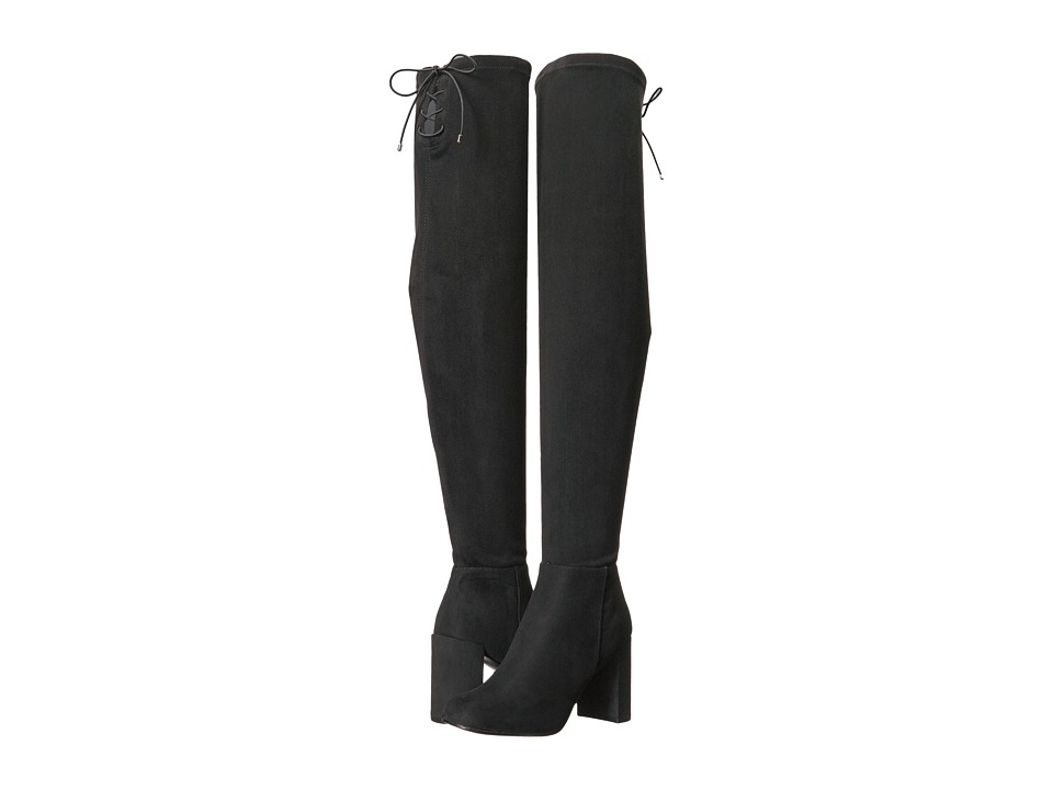 Chinese Laundry Krush Boot (Black Suedette) Women