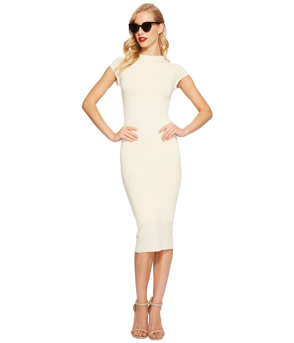 Unique Vintage Holly Wiggle Dress (Ivory) Women