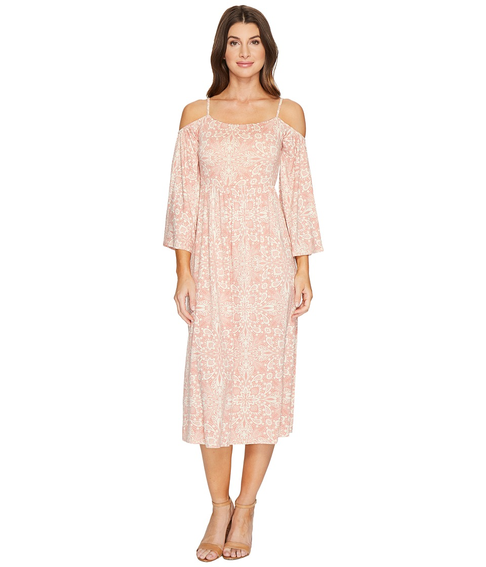 Rachel Pally Cheri Dress Print (Rosewood Prismatic) Women