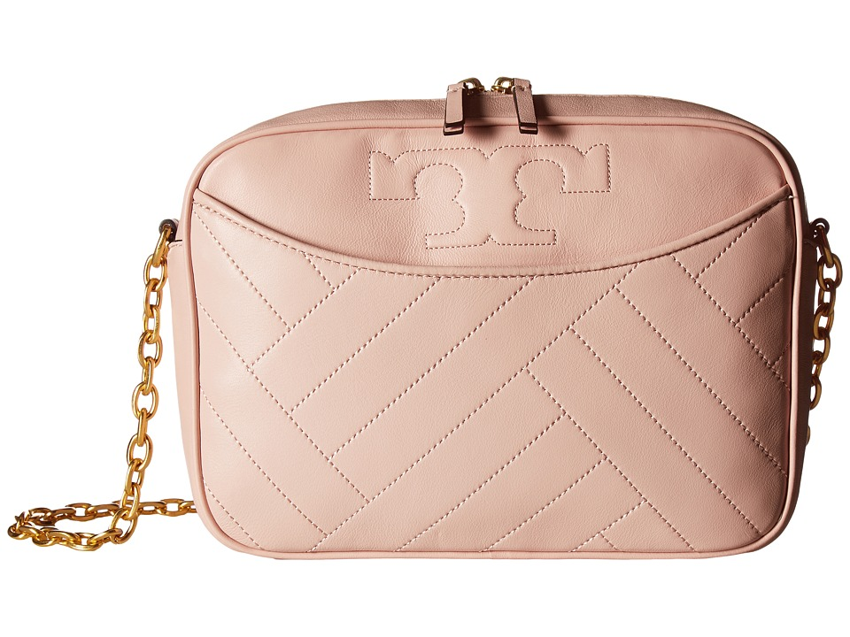 Tory Burch - Alexa Camera Bag (Dark Pink Quartz) Bags