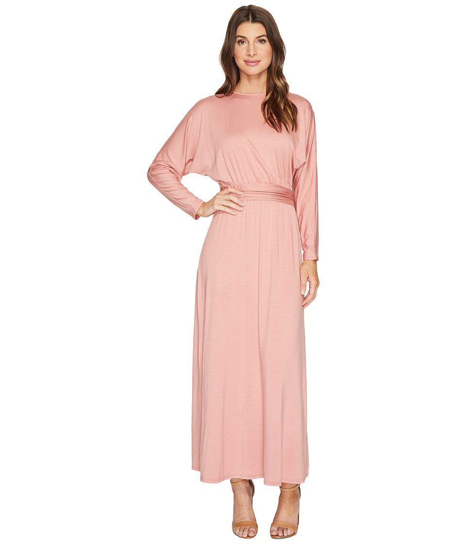 Rachel Pally Long Sleeve Asta Dress (Rosewood) Women