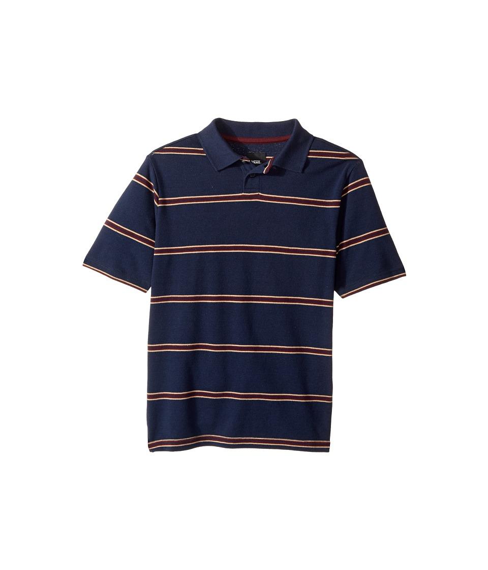 Vans Kids - Gifford Short Sleeve Polo (Big Kids) (Dress Blues) Boy's Clothing