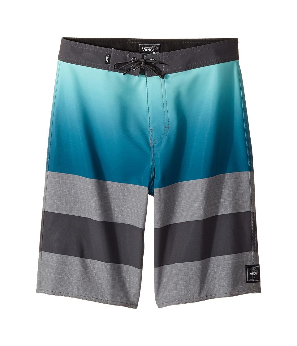 Vans Kids - Era Stretch Boardshorts (Little Kids/Big Kids) (Lyons Blue Gradient) Boy's Swimwear
