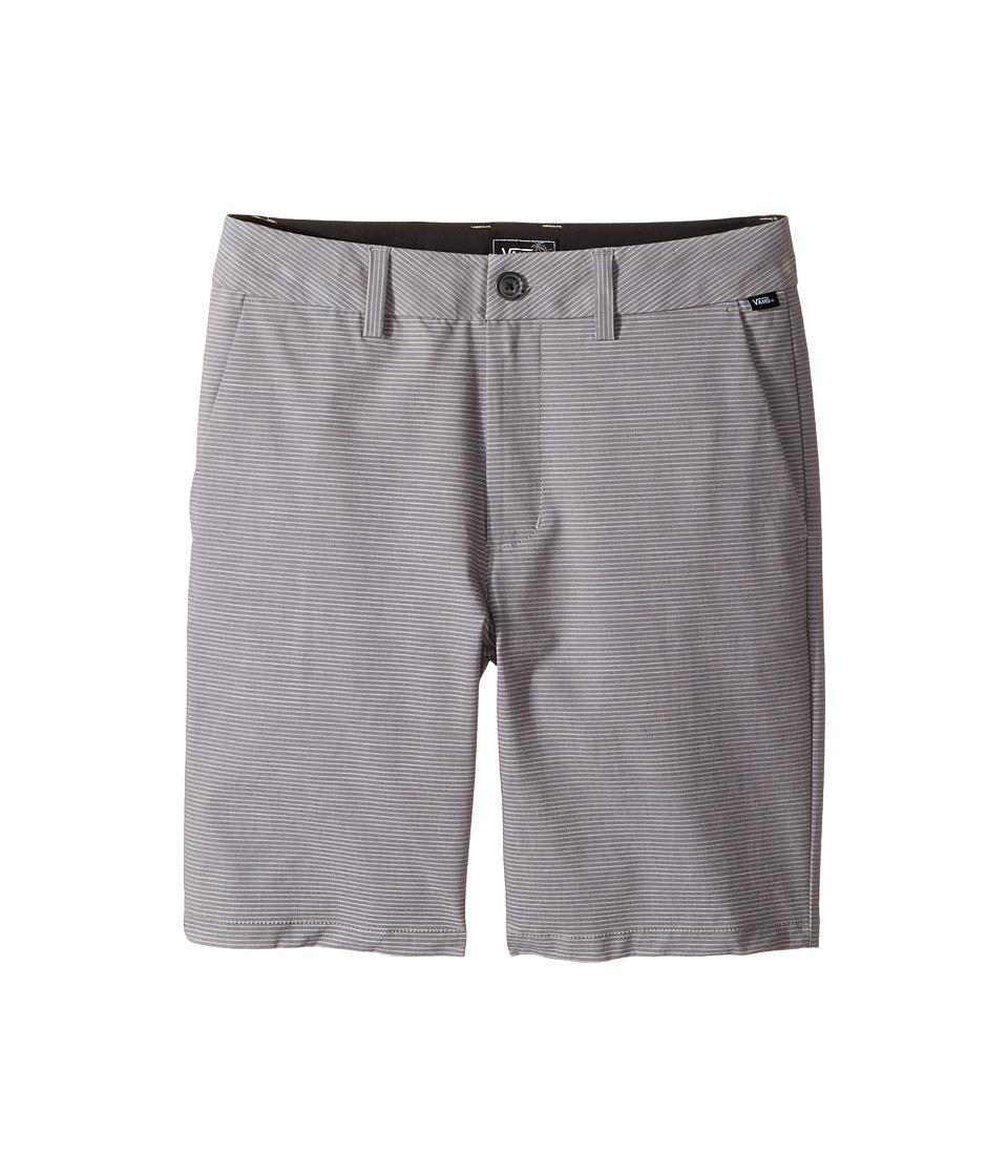 Vans Kids - Barlin Hybrid Shorts (Little Kids/Big Kids) (Asphalt) Boy's Shorts
