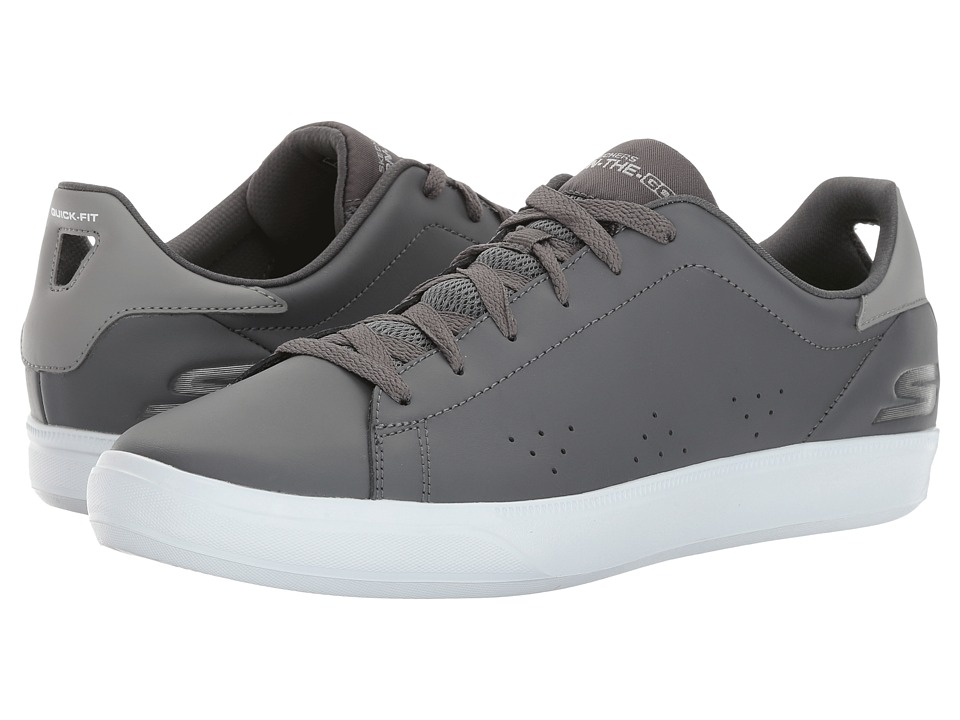 SKECHERS Performance - Go Vulc 2 (Charcoal/White) Men's Shoes