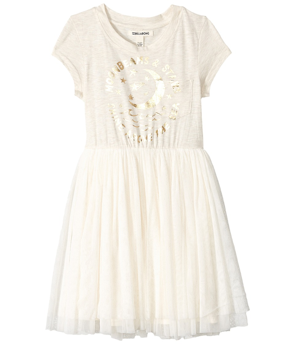 Billabong Kids Sunkissed Nights Dress (Little Kids/Big Kids) (White Cap) Girl