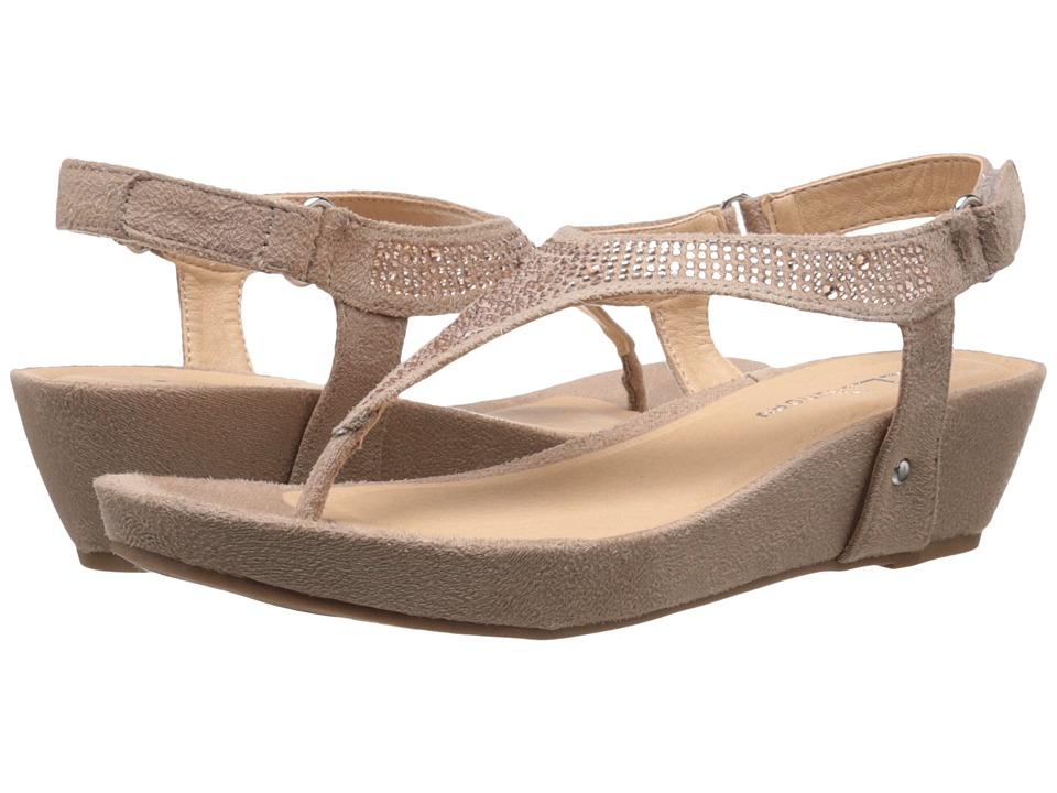 CL By Laundry - Nice Day (Taupe Micro Suede) Women's Sandals