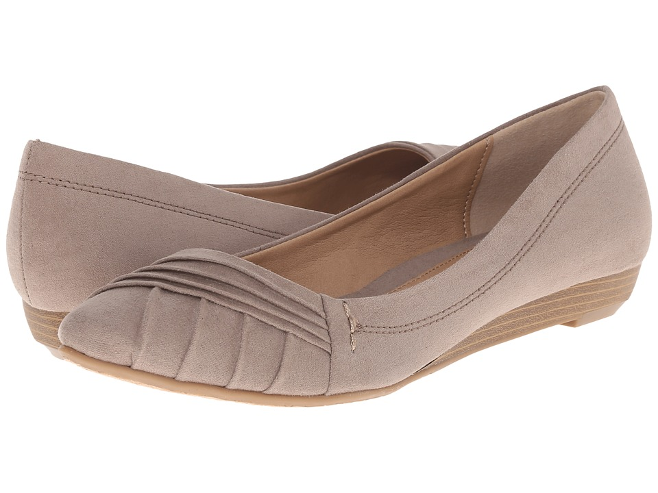 CL By Laundry - Saleema (Dark Taupe Super Suede) Women's Shoes