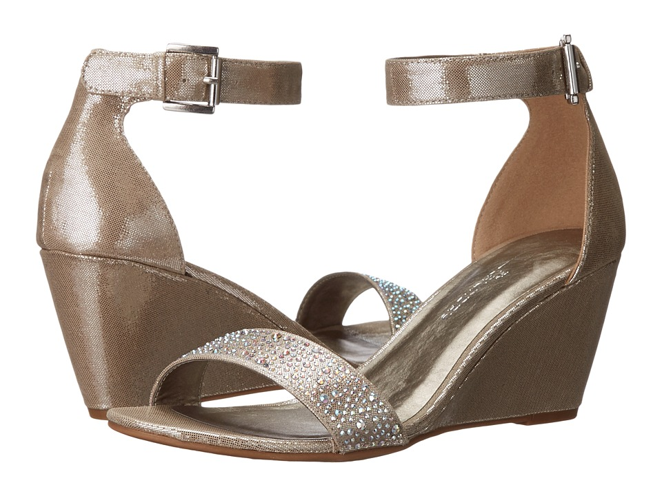 CL By Laundry - Neila (Champagne Disco Fabric) Women's Sandals