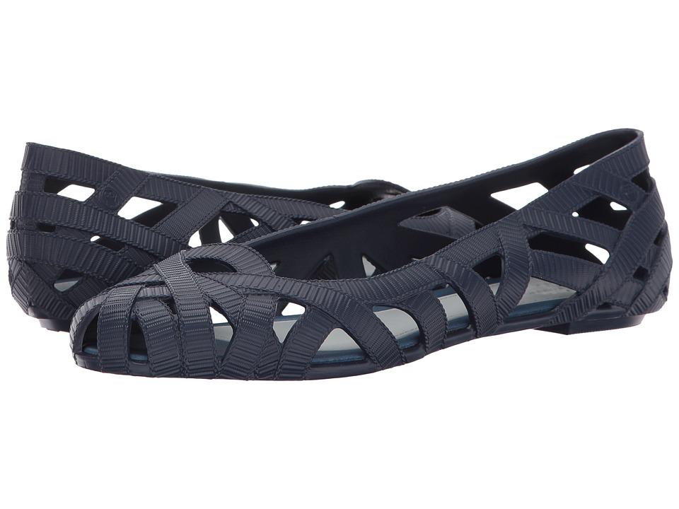 Melissa Shoes - Jean + Jason WU AD (Navy) Women's Flat Shoes