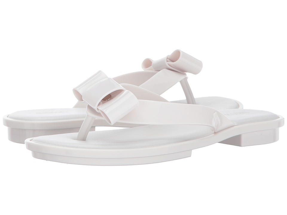 Melissa Shoes - Gueixa Flat (White) Women's Shoes