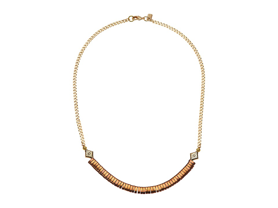 Vanessa Mooney - The Julio Necklace (Bronze) Necklace