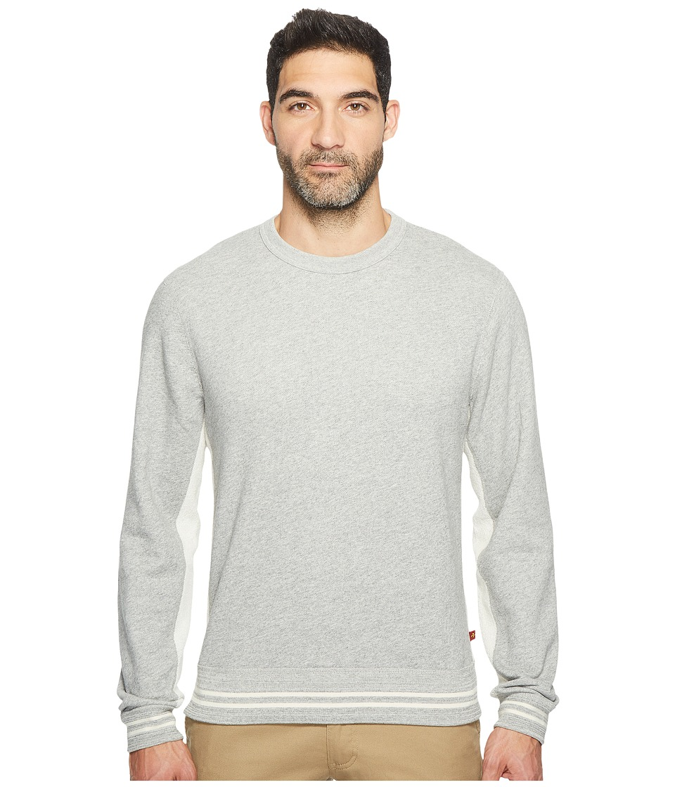 7 For All Mankind - Crew Neck Sweatshirt (Heather Grey) Men's Sweatshirt