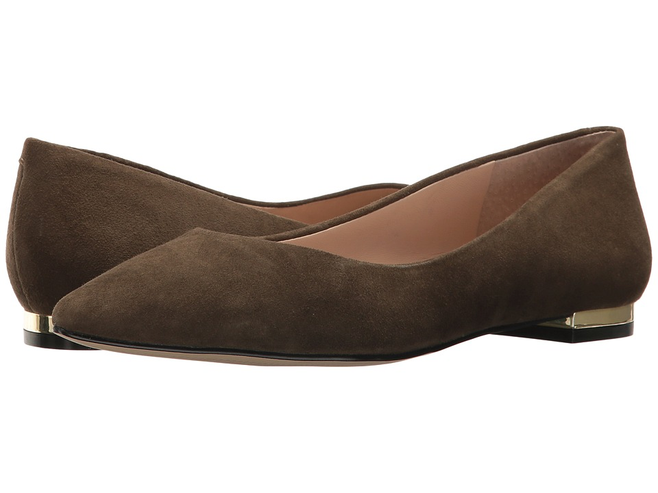 Marc Fisher LTD - Synal (Dark Olive) Women's Flat Shoes