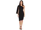 Calvin Klein Calvin Klein - One Shoulder Split Sleeve Asymmetric Hem Dress CD7C193R