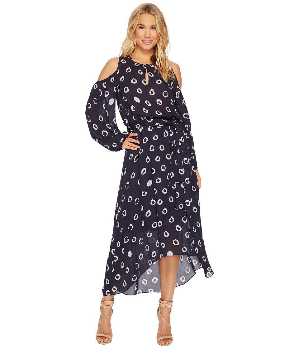 HEATHER Gwyneth Silk Boho Dress (Orb) Women