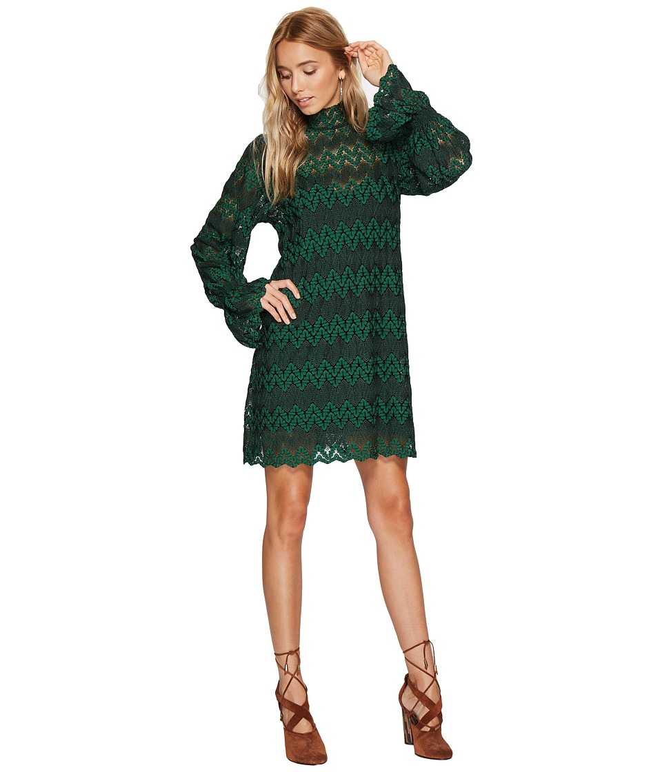 Free People - Simone Mini (Green Combo) Women's Clothing