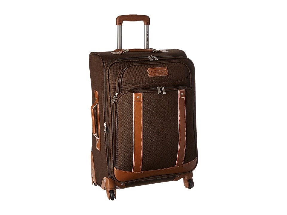 Tommy Hilfiger - Tradition 25' Upright Suitcase (Chocolate) Luggage
