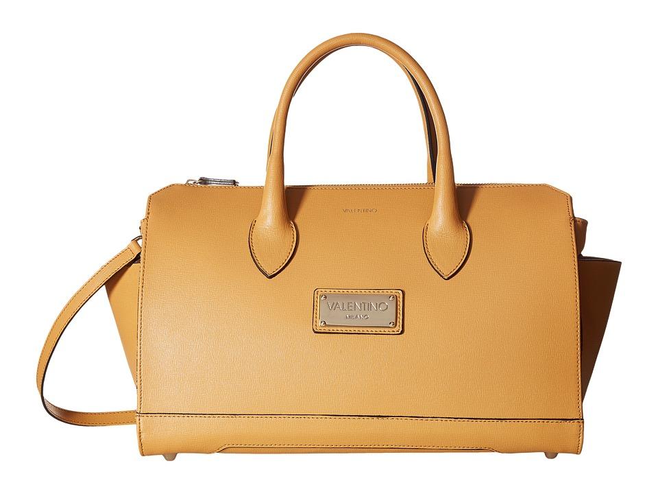 Valentino Bags by Mario Valentino - Lilly (Almond) Satchel Handbags