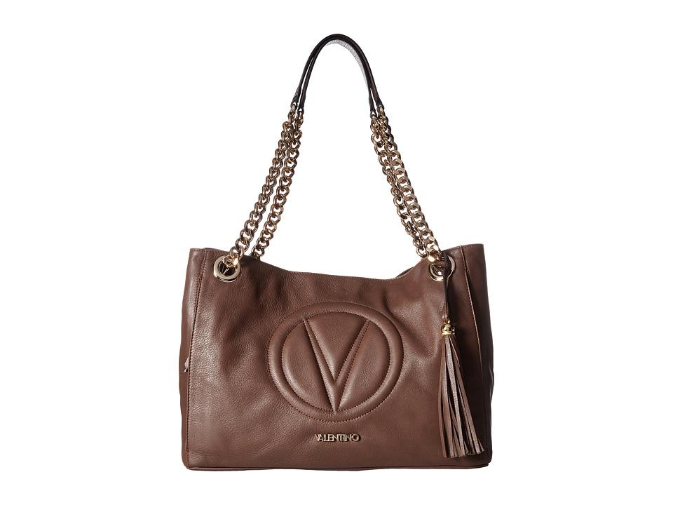 Valentino Bags by Mario Valentino - Verra (Chocolate) Shoulder Handbags