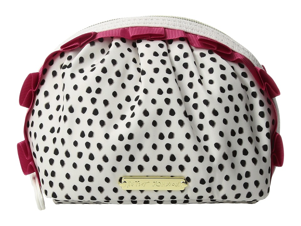 Betsey Johnson - Mini Ruffle Cosmetic (Spot) Cosmetic Case