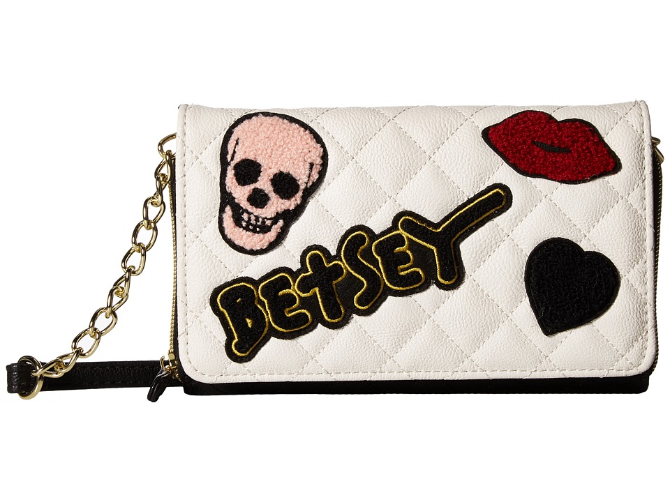 Betsey Johnson - Wallet On A String (Cream Multi) Wallet Handbags