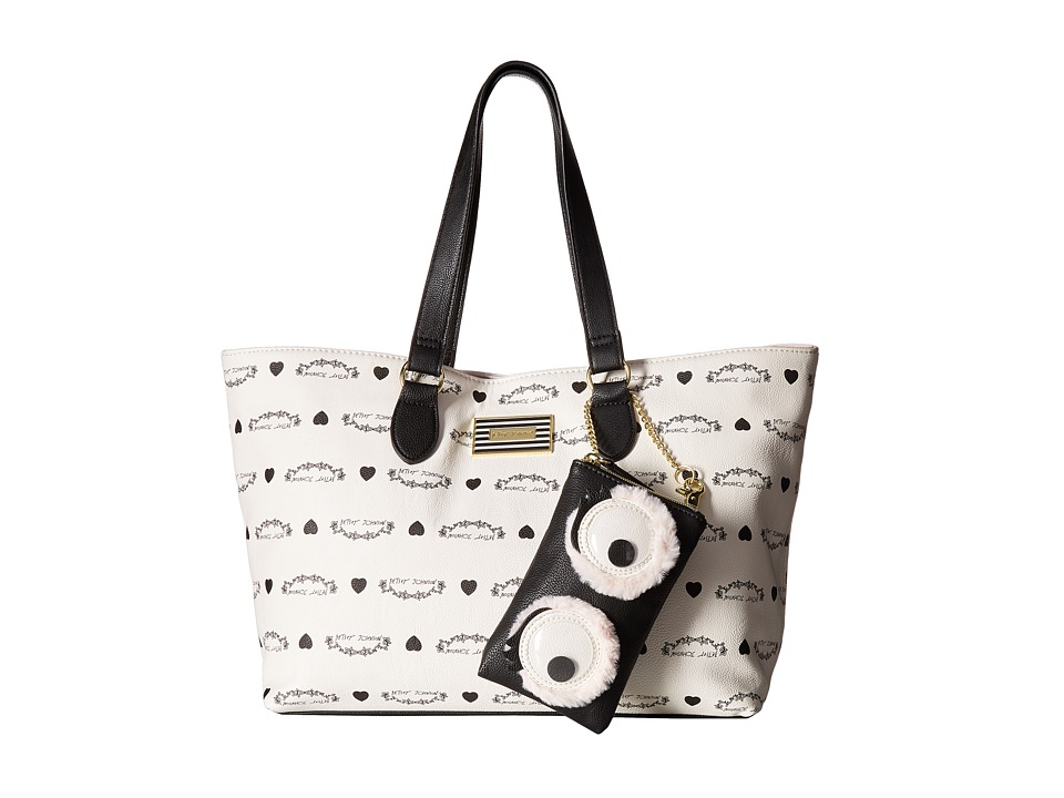 Betsey Johnson - Tote (Cream) Tote Handbags
