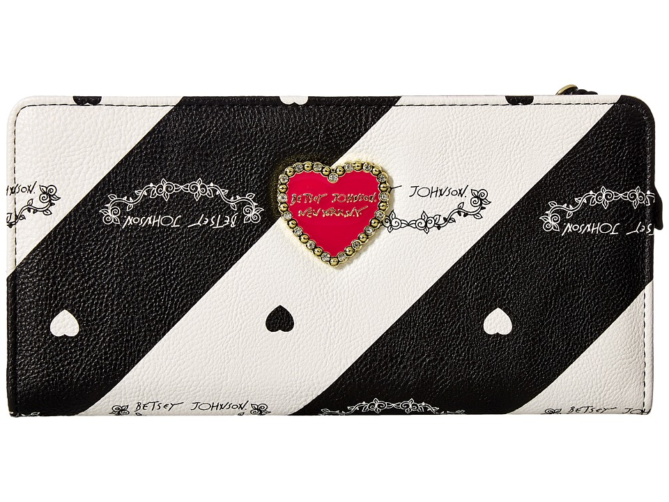 Betsey Johnson - Change Purse Wallet (Stripe) Wallet Handbags