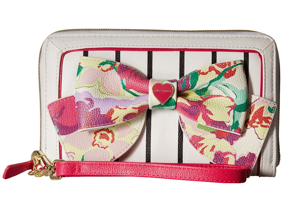 Betsey Johnson - Oversized Zip Around Wallet (Multi) Wallet Handbags