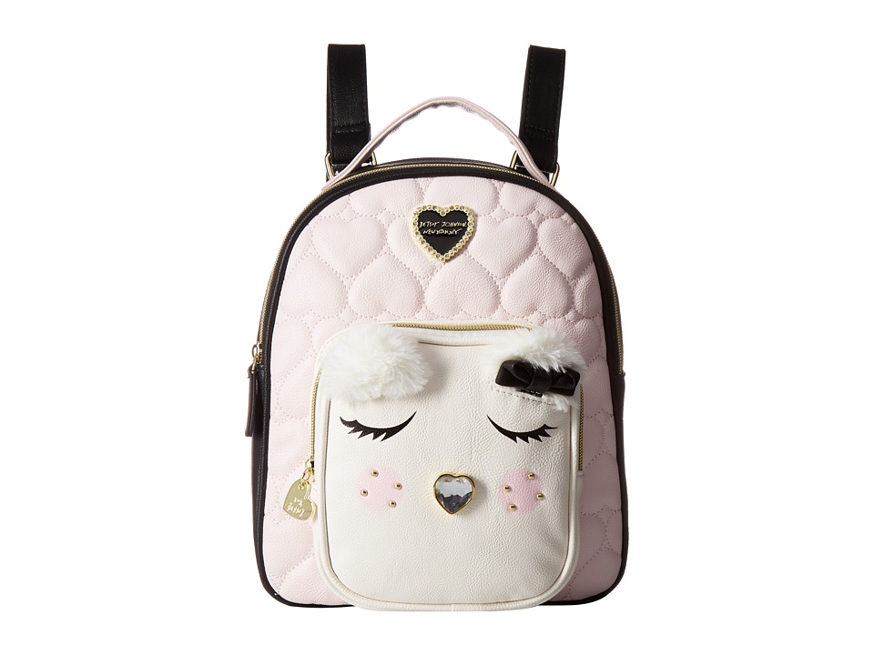 Betsey Johnson - Medium Backpack (Blush Multi) Backpack Bags