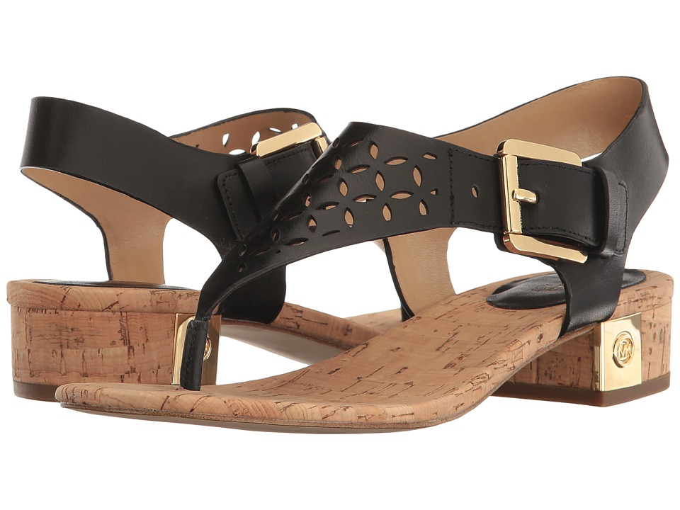MICHAEL Michael Kors - London Thong (Black) Women's Shoes
