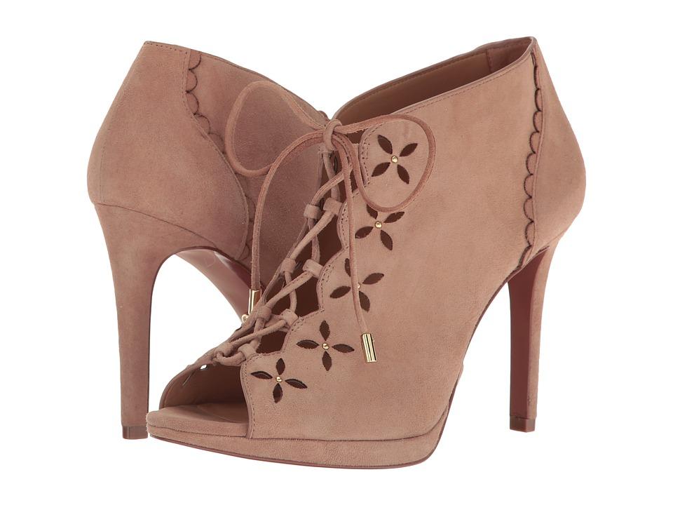 MICHAEL Michael Kors - Thalia Bootie (Dark Khaki) Women's Shoes