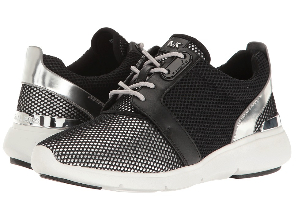 MICHAEL Michael Kors - Amanda Trainer (Black/Silver) Women's Shoes